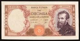 10000 LIRE MICHELANGEO BUONARROTI 14 01 1964 N.C. Q.FDS  LOTTO 3012 - 10000 Lire