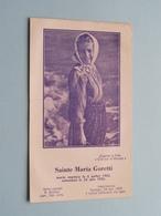 Sainte MARIA GORETTI Morte Martyre Le 6 Juillet 1902 - Canonisée Le 26 Juin 1950 ( Prions ) ! - Godsdienst & Esoterisme