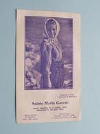Sainte MARIA GORETTI Morte Martyre Le 6 Juillet 1902 - Canonisée Le 26 Juin 1950 ( Prions ) ! - Religion & Esotérisme