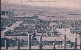 POSTAL ARGELIA - TIMGAD - LE CAPITOLE - VUE PRISE DU THEATRE - Argelia