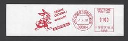 BRD AFS - WOLPERTSWENDE, FROHE OSTERN ! Wünscht STERKEL 1997 - Pasqua