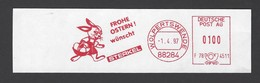BRD AFS - WOLPERTSWENDE, FROHE OSTERN ! Wünscht STERKEL 1997 - Ostern