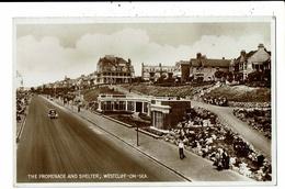 CPA-Carte Postale-Royaume Uni- Westcliff-on-Sea- The Promenade And Shelter-VM9874 - England