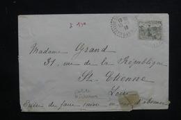FRANCE - Orphelin ( 1ère Série)  Sur Enveloppe De Canaules-et-Argentières En 1918 Pour St Etienne - L 48586 - 1877-1920: Période Semi Moderne