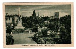 OLEGGIO MONUMENTO AI CADUTI E GIARDINI PUBBLICI - Novara