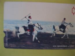 "Télécarte De Turquie ""chevaux"" - Türkei"