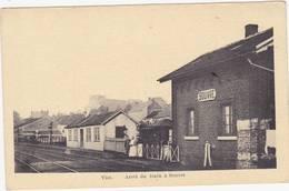 41971  Vise  Arret  Du  Train  à  Souvré  Gare - Visé