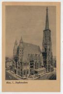 C.P.  PICCOLA     WIEN   I  , STEPHANSDOM           2 SCAN  (NUOVA) - Vienna