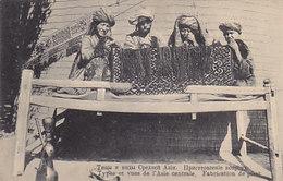 Types D'Asie Centrale - Fabrication Du Pisat           (A-143-190530) - Asia