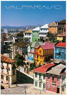 1 AK Chile * Die Historische Altstadt Von Valparaiso - Seit 2003 UNESCO Weltkulturerbe * - Chile
