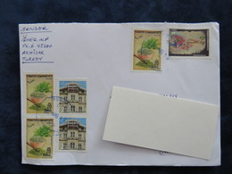 Turkey 2018, 2016 Circulater Letter, Herb, Building, - 1921-... Repubblica