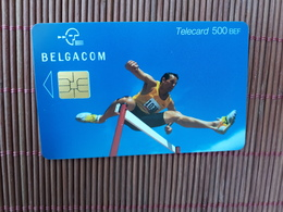 Phonecard  Sport 500 BEF NH 30.06.2003 Used Low Issue Rare - Belgique