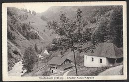 """Schweiz Suisse 1923: Bild-PK CPI """"Flüeli-Ranft (748m) Bruder Klaus-Kapelle"""" Mit O FLÜELI B. SACHSELN 8.X.23 Nach Sempach - OW Obwalden"""