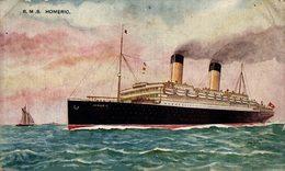 RMS HOMERIC - Paquebote