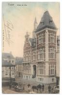 CPA PK  FOSSE  HOTEL DE VILLE  CARTE ANIMEE - België