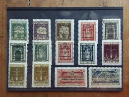 TERRE REDENTE 1924 - FIUME - Nn. 214/25 + Exp. 11/12 Nuovi ** + Spese Postali - Fiume