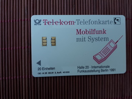 Phonecard Germany (mint,Neuve) Only 40.000 Ex Made Rare - Allemagne
