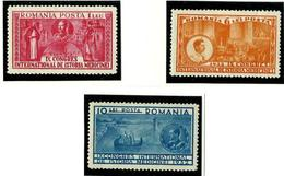 Rumanía Nº 446/48 Con Charnela. Cat.55€ - Unused Stamps