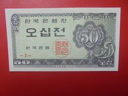 COREE 50 JEON 1962 PEU CIRCULER (B.9) - Corée Du Sud