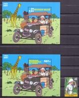 Belgie - 2001 - OBP - ** 3049 - Blok  93 + Blok 2093 + Zegel 2092 - Gem. Uitgifte Met Congo ** - Belgique