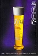PUB PUBLICITE -  Verre 1664  By Stark  - Bière  (c)  (alcool) ( Cart Com) *PRIX FIXE - Advertising