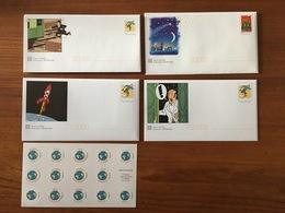 Lot De 1 Pochette Et 3 Enveloppes De PRETS A POSTER Illustrés Et 3 Enveloppes Pré-timbrées émis En 2000 - Neufs - Entiers Postaux