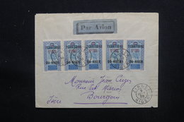 NIGER - Enveloppe De Zinder Pour La France En 1935 Par Avion , Affranchissement Plaisant - L 48599 - Covers & Documents