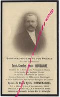 En 1930 Merris Et Caestre (59) René MONTAIGNE, ép Sylvie HOUVENAGHEL Harmonie Municipale-pompier - Avvisi Di Necrologio