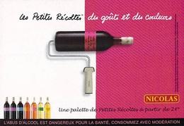PUB PUBLICITE-NICOLAS Vin De Pays Des Collines De La Moure (A)(alcool Les Petites Récoltes Languedoc Cart Com)*PRIX FIXE - Advertising