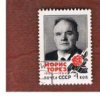 URSS -  SG  3025   - 1964 M. THOREZ, POLITICIAN   - USED° - RIF. CP - 1923-1991 USSR