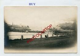 HUY-CARTE PHOTO Allemande-Guerre 14-18-1WK-BELGIQUE-BELGIEN- - Huy