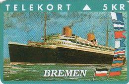"Denmark KP-129 Steamship  ""Bremen"" - Mint - Dänemark"