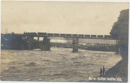 81-486 Estonia Narva Railway Bridge - Estland