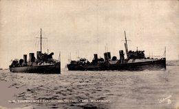 "Torpedo Boat Destroyers ""Peterel"" And Bullfinch - Pesca"