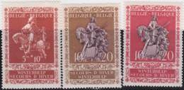 Belgie     .    OBP   .    612/614     .      **    .    Postfris  .   /   . Neuf Avec Gomme Et SANS Charniere - Belgien