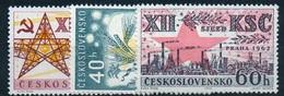 1962 Czechoslovakia MNH - Mi 1368-1370 Yv 1242-1244 ** MNH - Tschechoslowakei/CSSR