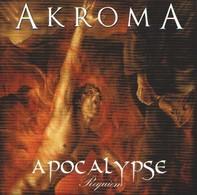AKROMA - Apocalypse Requiem - CD - BLACK METAL SYMPHONIQUE - Hard Rock & Metal