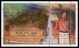 GUATEMALA Bloc Bataille D'Arada 2010 Neuf ** MNH - Guatemala