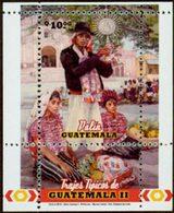 GUATEMALA Bloc Costumes Part II 2011 Neuf ** MNH - Guatemala