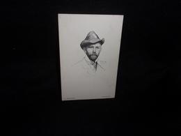 Arts. Illustrateur K . Zelechowski.Autoportret.Voir 2 Scans . - Otros Ilustradores