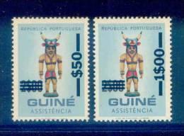 ! ! Portuguese Guinea - 1968 Postal Tax (Complete Set) - Af. IP 27 To IP 28 - MNH - Portugiesisch-Guinea