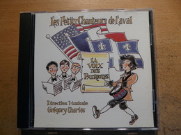 CD Les Petits Chanteurs De Laval La Voix Des Patriotes Direction Musicale Grégory Charles - Chants Gospels Et Religieux