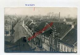 WACKEN-Carte Photo Allemande-Guerre-14-18-1WK-BELGIQUE-BELGIEN-Flandern- - Waregem
