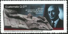 GUATEMALA Rodolfo Torres 1v 2013 Neuf ** MNH - Guatemala