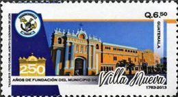 GUATEMALA Villa Nueva 1v 2013 Neuf ** MNH - Guatemala