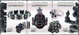 GUATEMALA Objet En Jade 3v 2014  Neuf ** MNH - Guatemala