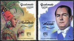 GUATEMALA UPAEP 2014 2v  Neuf ** MNH - Guatemala