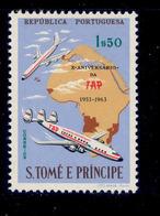 ! ! St. Thomas - 1963 TAP - Af. 377 - MNH - St. Thomas & Prince