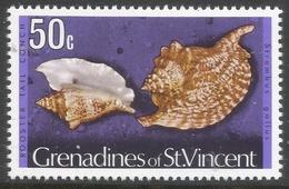 Grenadines Of St Vincent. 1974 Shells And Molluscs. 50c MH. (No Date Imprint) SG 49A - St.Vincent & Grenadines