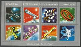 Yemen,Interplanetary Stations 1970.,mini Sheet,MNH - Yemen